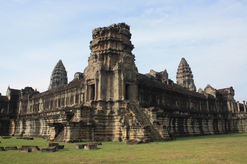 Der Haupttempel Angkor Wat.