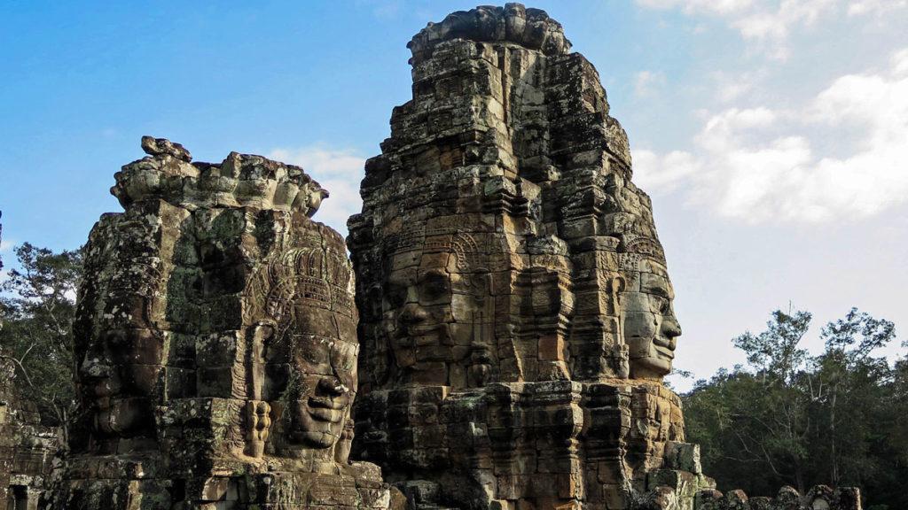 Der Bayon - Tempel im Angkor Thom Komplex.
