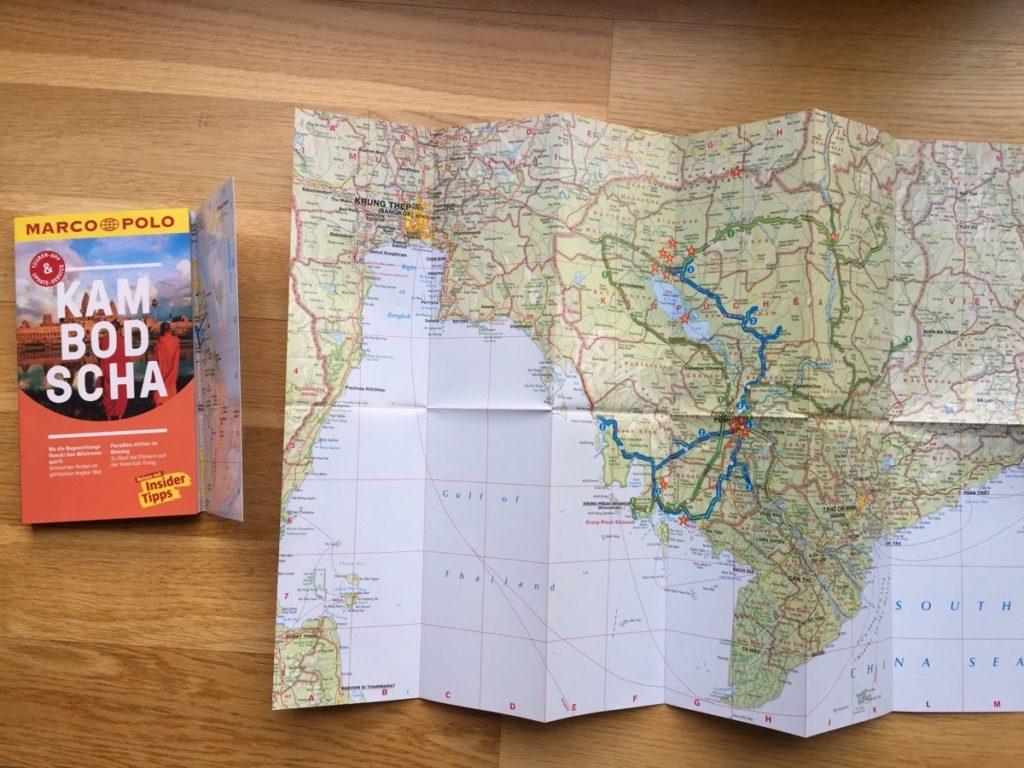 Marco Polo Reiseführer für Kambodscha