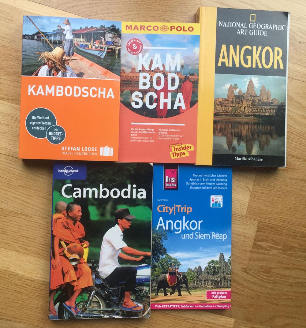 Wir haben die wichtigsten Reiseführer für Kambodscha und Angkor Wat getestet.