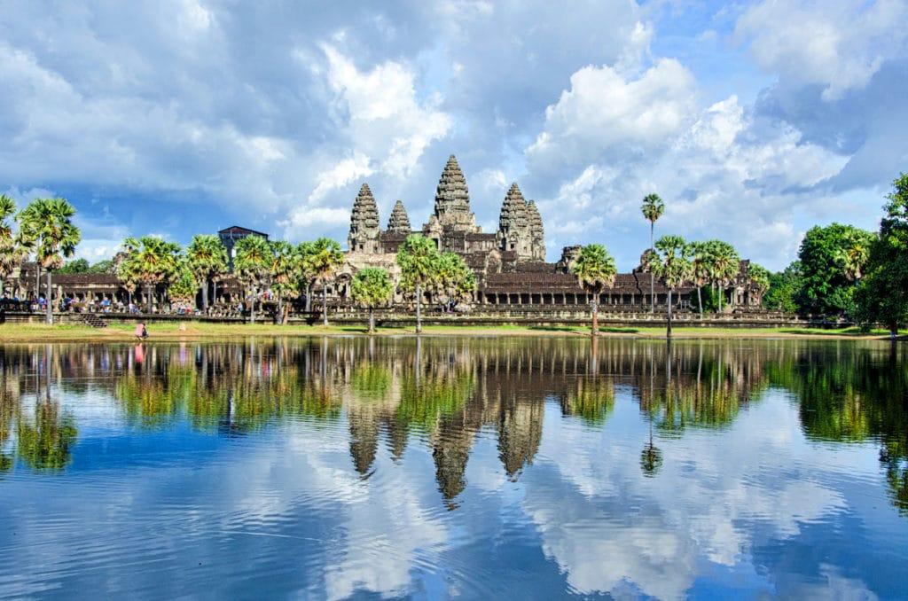 Darf auf keiner Rundreise fehlen: Angkor Wat!