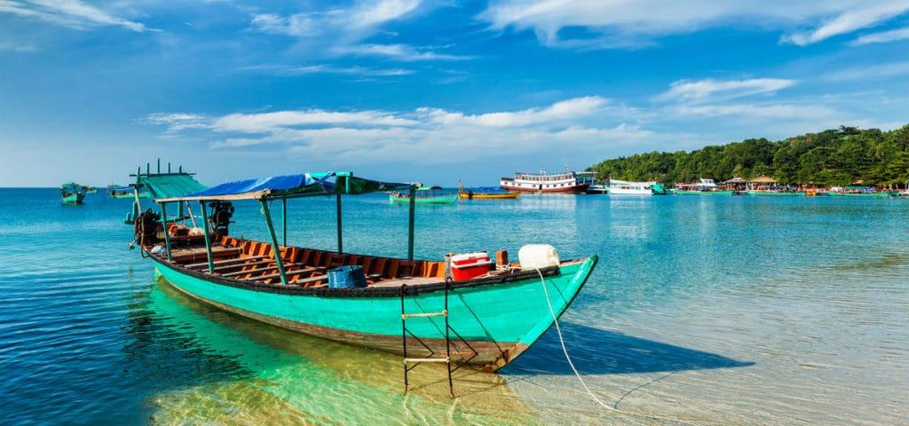 Reiseroute in Kambodscha: Wohin in Kambodscha und was sehen? Hier: der Strand von Sihanoukville.