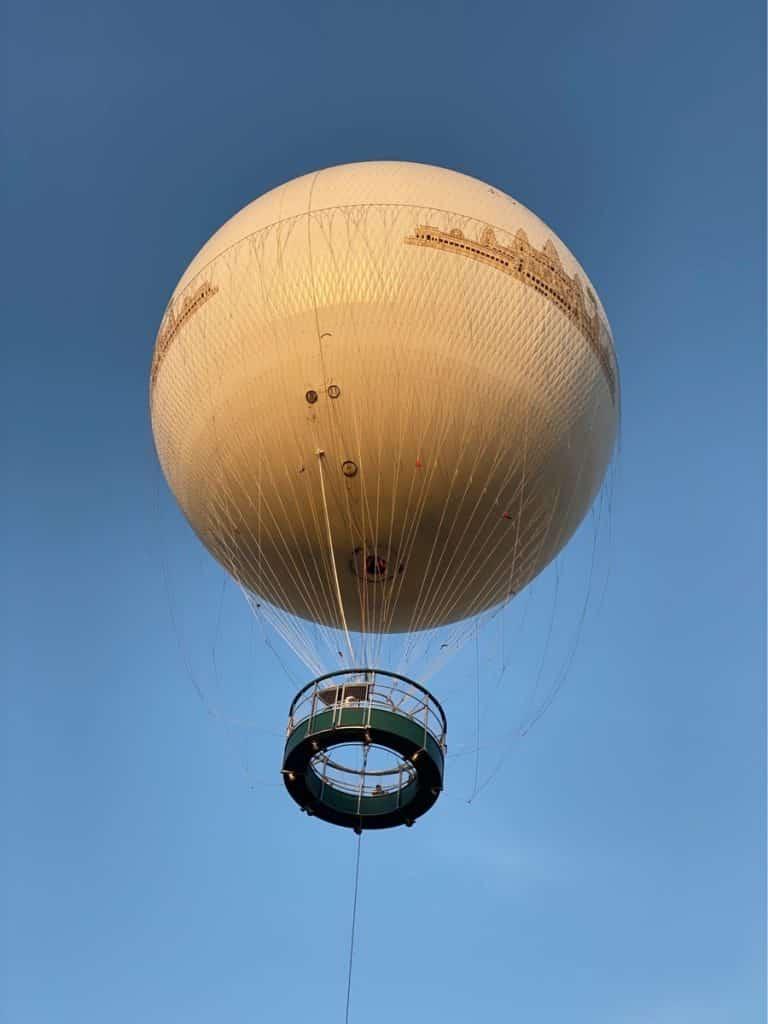 Der Angkor Balloon im Dezember 2019