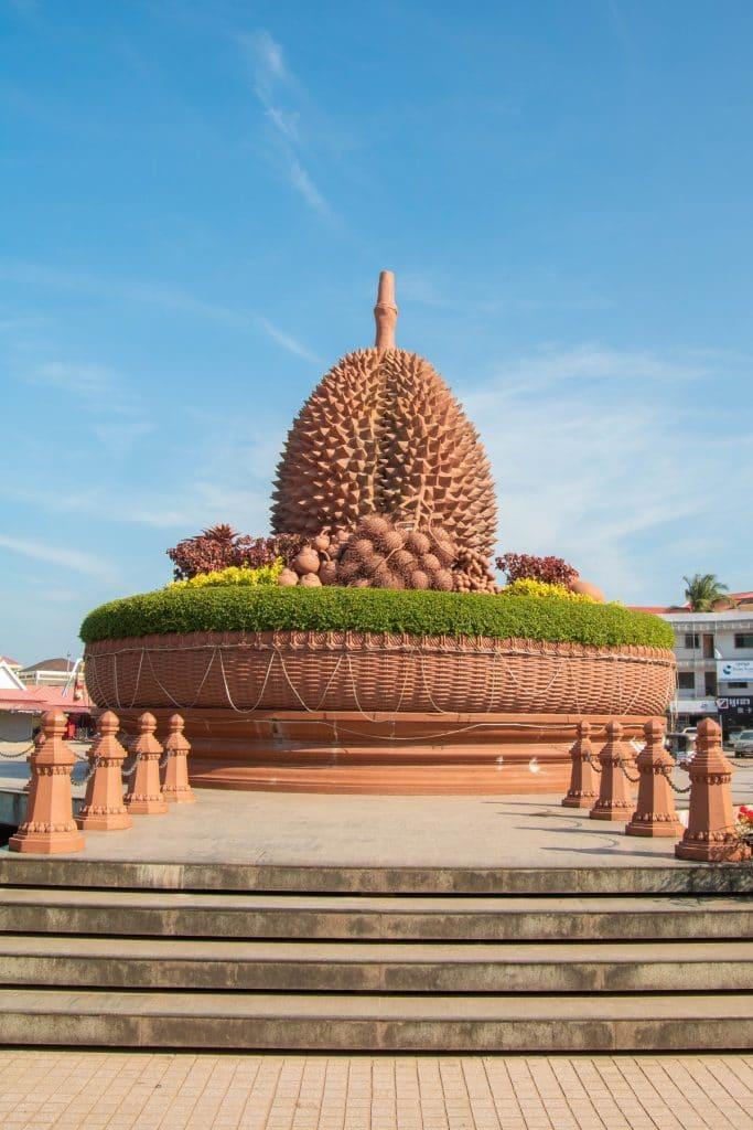 Der Durian Roundabout ist dem südostasiatischen Durianbaum gewidmet