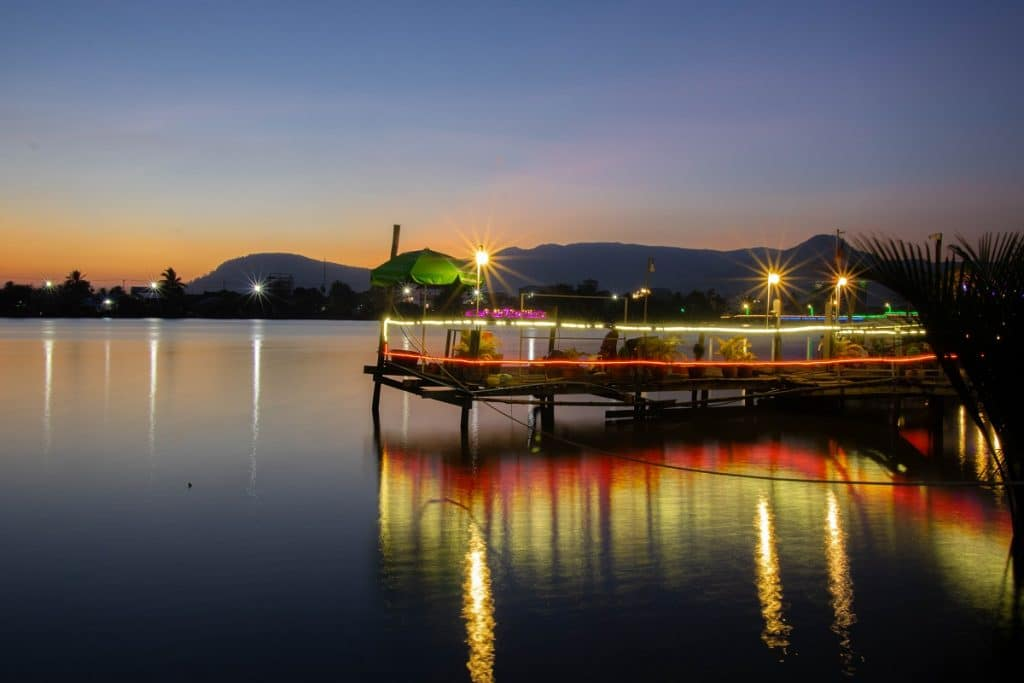 Riverside in Kampot