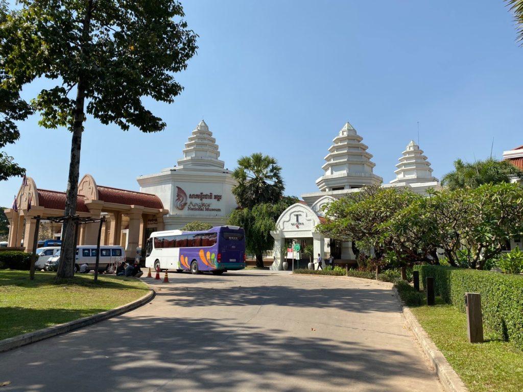 Das Angkor-Nationalmuseum in Siem Reap