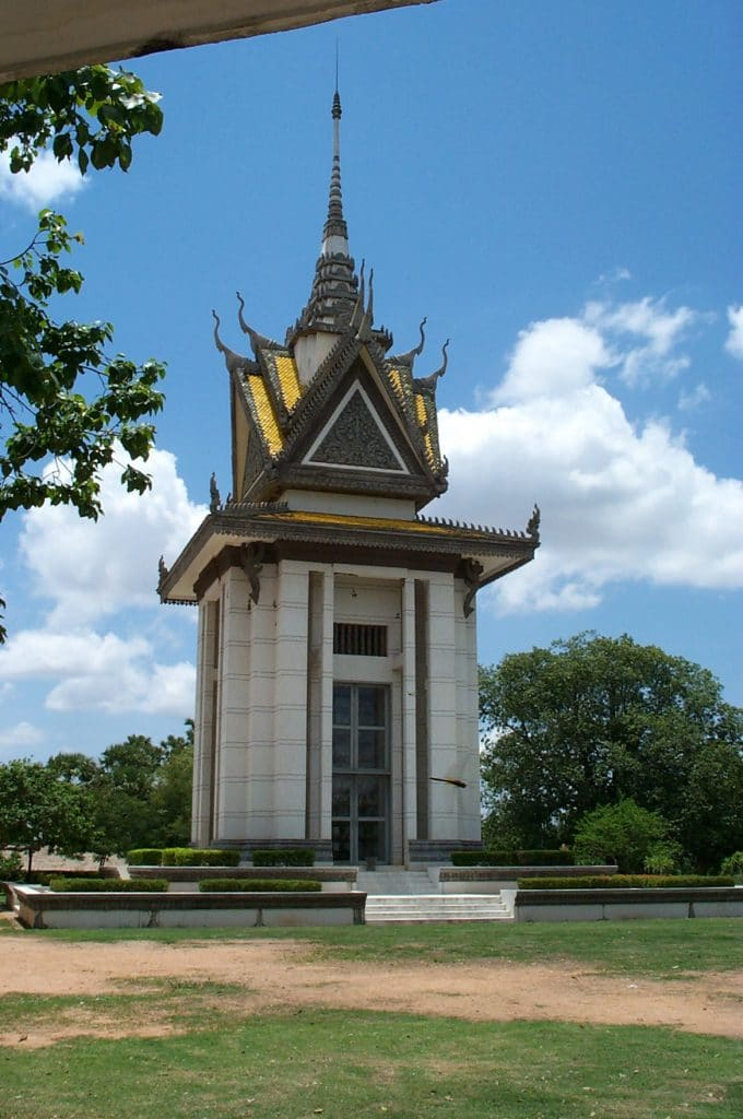 Gedächtnis-Stupa in Choeung Ek