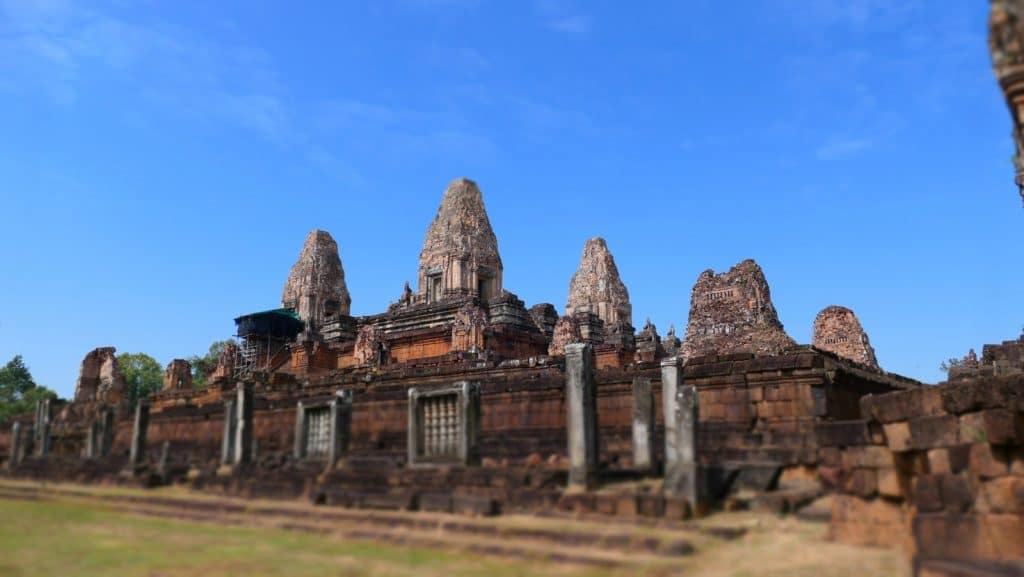 Der Pre Rup Tempel von Westen gesehen.