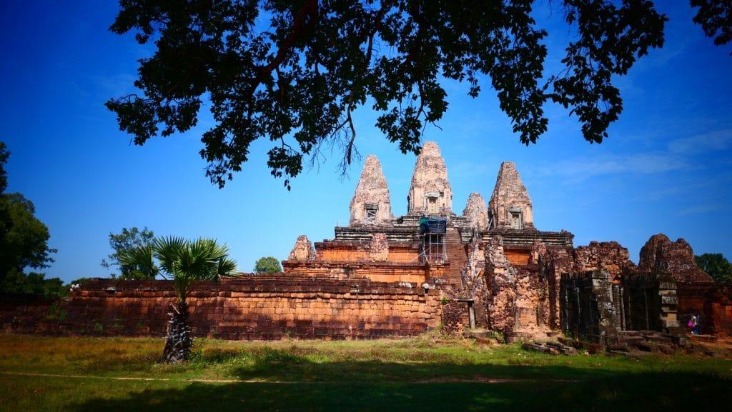 Der Pre Rup Tempel von Osten gesehen.