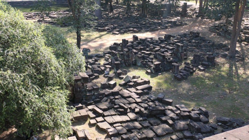 Der Baphuon - ein riesiges Puzzle mit über 300.000 Puzzleteilen.