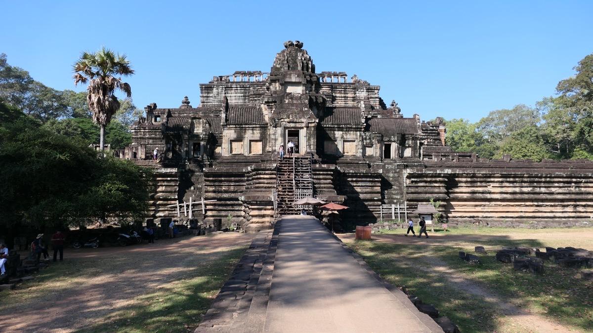 Der Baphuon Tempel, Teil von Angkor Thom und neben Angkor Wat einer der wichtigsten Tempel