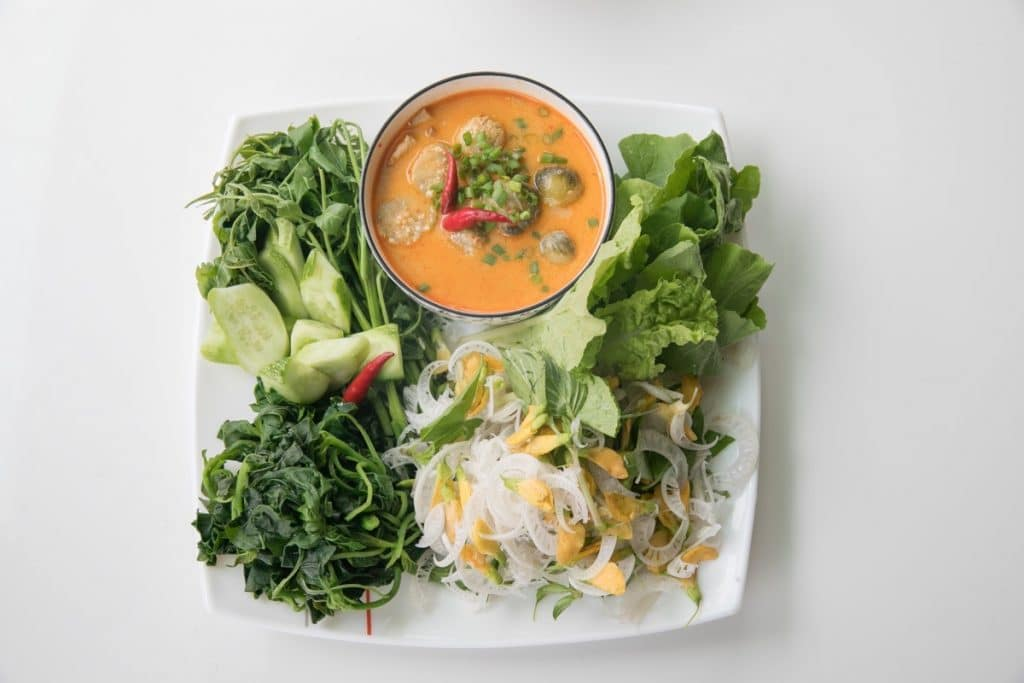 Essen in Kambodscha: Gerichte, Rezepte & Küche - hier: TEUK KREUNG CHHA