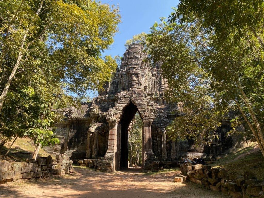 Das Gate of the Dead - das Todestor von Angkor Thom